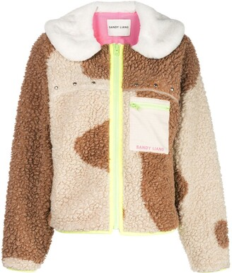 Sandy Liang Bells fleece jacket