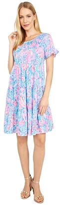 Lilly Pulitzer Jodee Dress (Multi Treasure Trove) Women's Dress