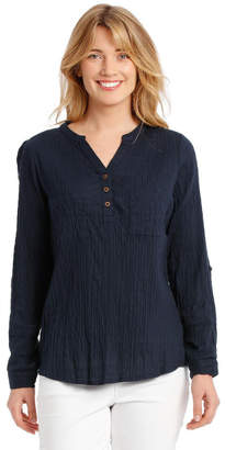 Regatta Soft Long Sleeve Shirt With Rolled Sleeve