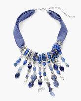 Chico's Scenic Blue Bib Necklace