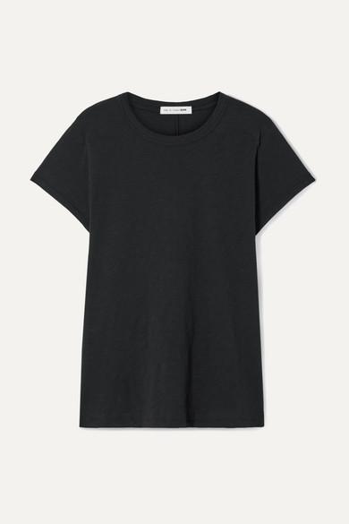 Rag & Bone The Tee Cotton-jersey T-shirt - Black