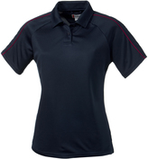 Clique Navy Canberra Lady Polo - Plus Too