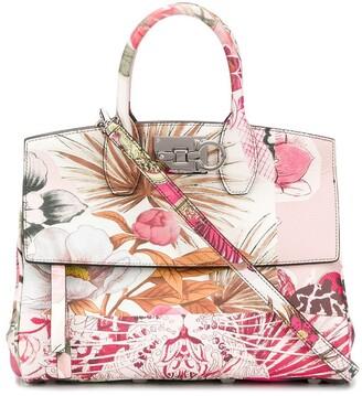 Salvatore Ferragamo Studio floral tote bag