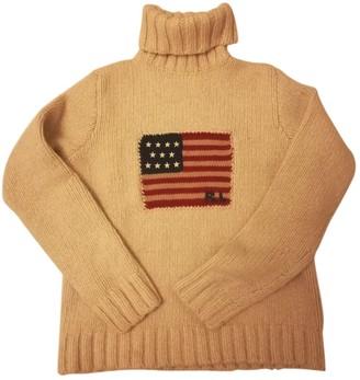 Polo Ralph Lauren Beige Cashmere Knitwear for Women Vintage