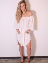 Tysa Senorita Mini Dress In Off White