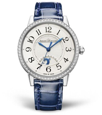 Jaeger-LeCoultre Stainless Steel and Diamond Rendez-Vous Night & Day Watch 34mm