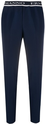 Ermanno Ermanno Logo Band Trousers