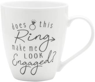Mikasa Gourmet Basics Does This Ring Make Me Look Engaged Mug