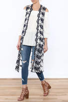 Hazel Embroidered Sleeveless Duster