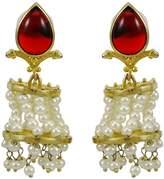 Banithani plated Indian Party Wear Dangle Earring Set Beautiful Jewelry