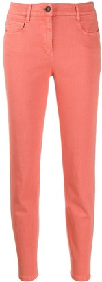 Peserico Cropped Skinny Jeans