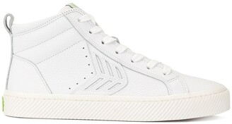Cariuma CATIBA High Off White Premium Leather Sneaker