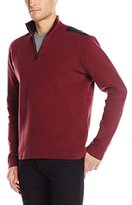 Victorinox Men's Lieutenant Zip Mock Sweater