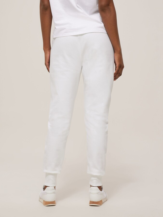Thumbnail for your product : Paul Smith Organic Cotton Zebra Embroidered Joggers
