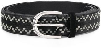 Orciani Woven Design Belt