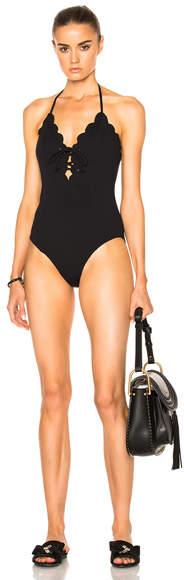 Marysia Swim Broadway Tie Swimsuit