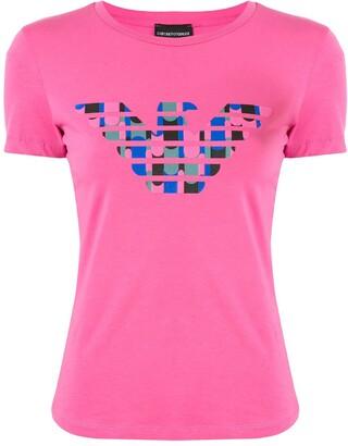 Emporio Armani logo print T-shirt