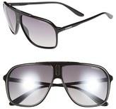 Carrera Men's Eyewear 62Mm Sunglasses - Blue Grey/ Black Mirror
