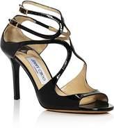 Jimmy Choo Women's Ivette 85 Patent Leather High Heel Sandals