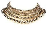 Amrita Singh Beaded Multi-strand Choker Necklace.