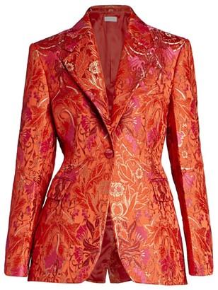Dries Van Noten Floral Jacquard Jacket