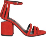 Alexander Wang Cage Abby Cult suede sandal