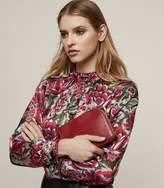 Reiss Ruth Floral Burnout Shirt