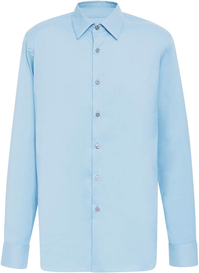 0c6dc7fe Stretch Cotton Blend-Poplin Shirt
