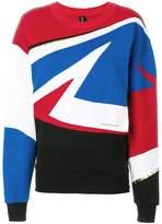 Alexandre Vauthier racing sweatshirt