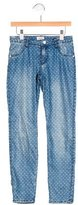 Armani Junior Girls' Heart Print Skinny Jeans w/ Tags