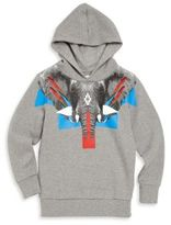 Marcelo Burlon County of Milan Little Boy's & Boy's Elephant Graphic Hooded Sweatshirt