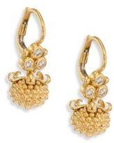 Temple St. Clair Mini Pod Diamond & 18K Yellow Gold Earrings
