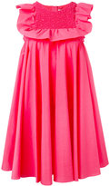 MSGM pleated dress - women - Cotton - 38