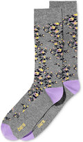 Bar III Men's Patterned Ditsy Floral Dress Socks, Only at Macy's