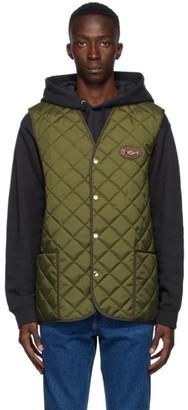Gucci Khaki Lightweight Canvas Vest