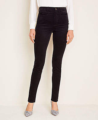 Ann Taylor Corduroy Welt Pocket Skinny Pants - Curvy Fit