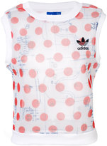 adidas embroidered tank top