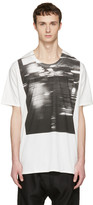 Nude:mm Off-white Printed T-shirt
