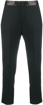Semi-Couture Cropped Tailored Trousers