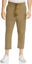 Scotch & Soda Cropped Regular Fit Drawstring Pants