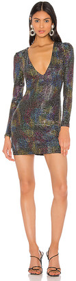 superdown Elsie Deep V Dress