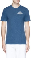 Denham Jeans 'Ice-D' sea map print T-shirt