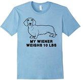Ripple Junction Men's My Wiener Weighs 10 LBS XL