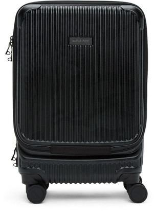 Master-piece Co Black Trolley Carry-On Suitcase
