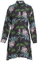 Kenzo Abstract Floral Shirtdress