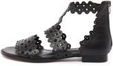 Django & Juliette Reama Black Sandals Womens Shoes Casual Sandals-flat Sandals
