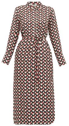 Max Mara S Egoista Dress - Womens - Red Multi