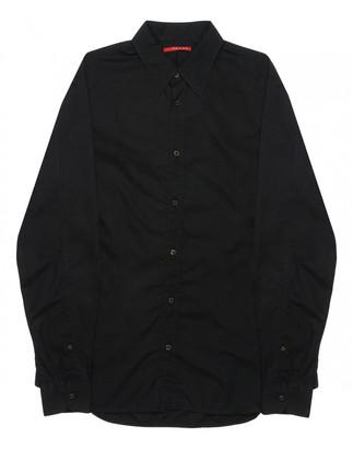 Prada Black Cotton Shirts