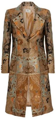 Etro Jacquard Paisley Coat