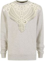 Burberry Embroidered Cut-Out Sweatshirt